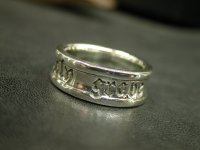 LOGO STAMP RING NEO
